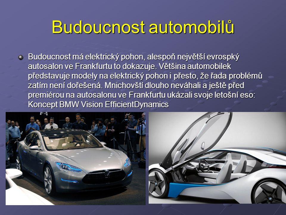 Budoucnost automobilů