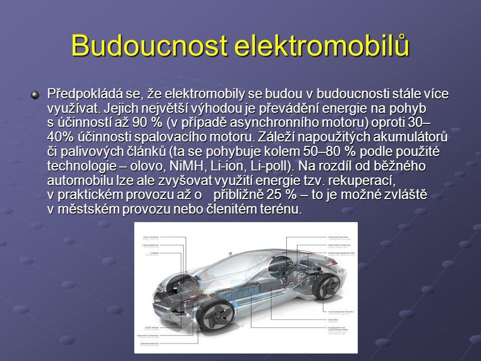 Budoucnost elektromobilů