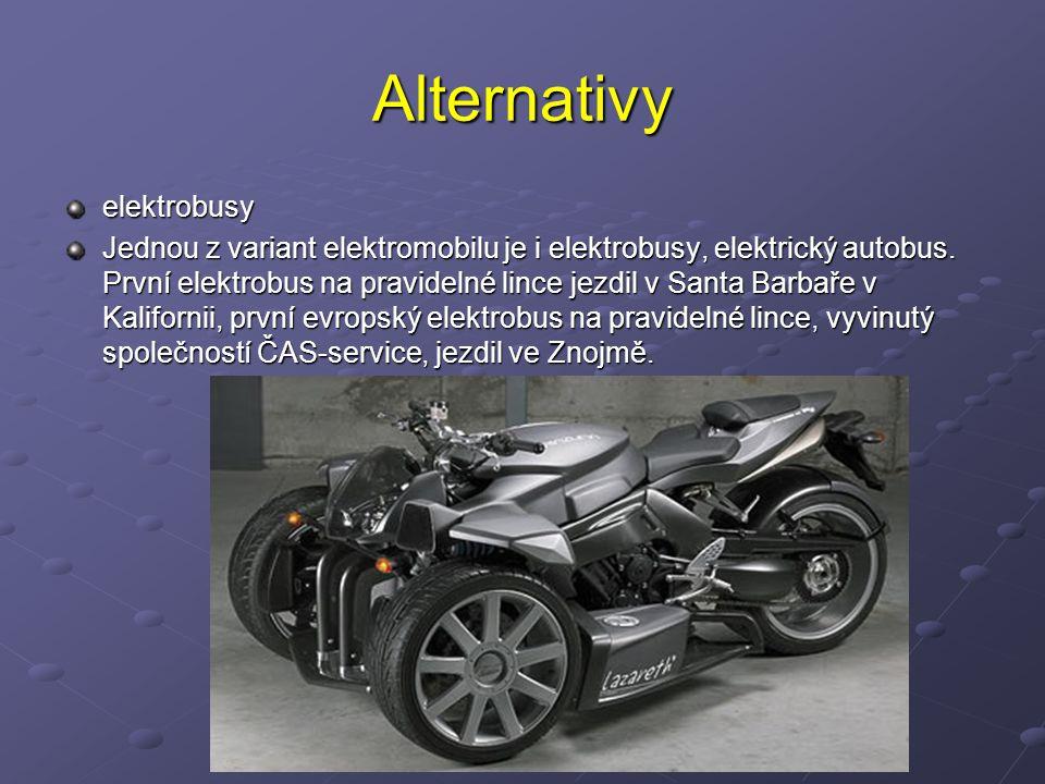 Alternativy elektrobusy