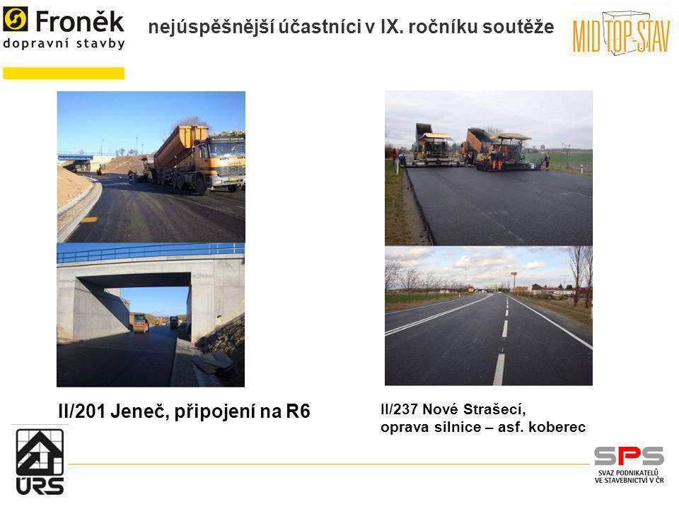 II/201 Jeneč, připojení na R6