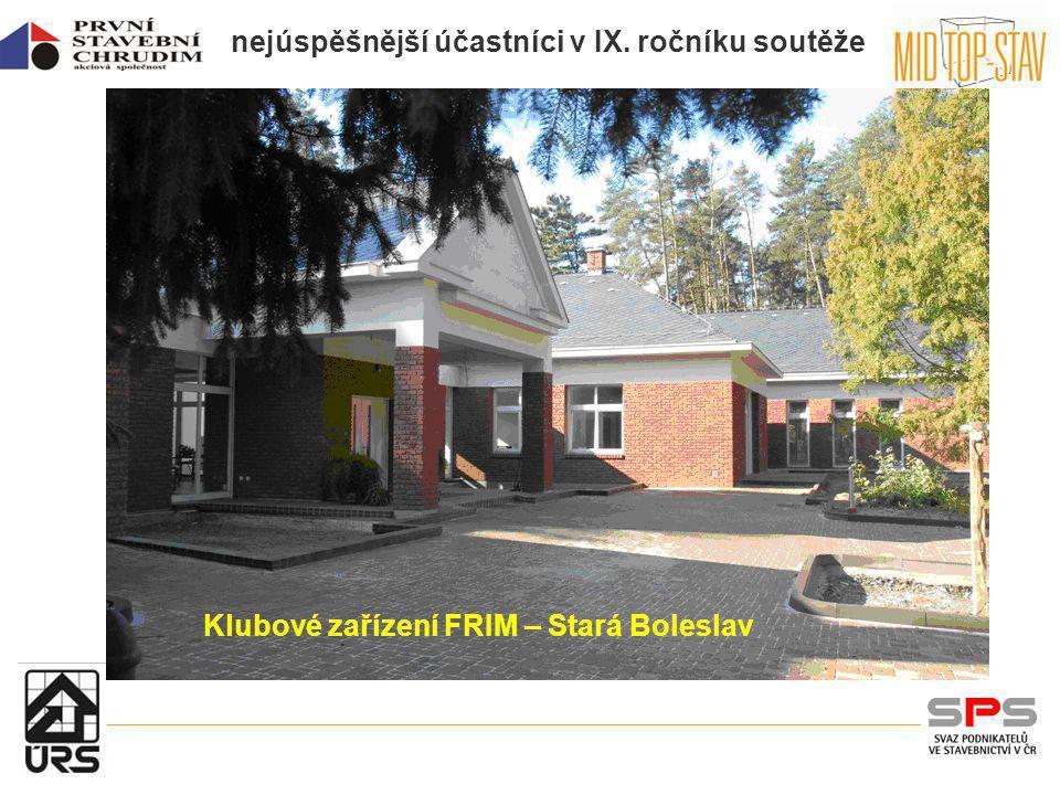 Klubové zařízení FRIM – Stará Boleslav