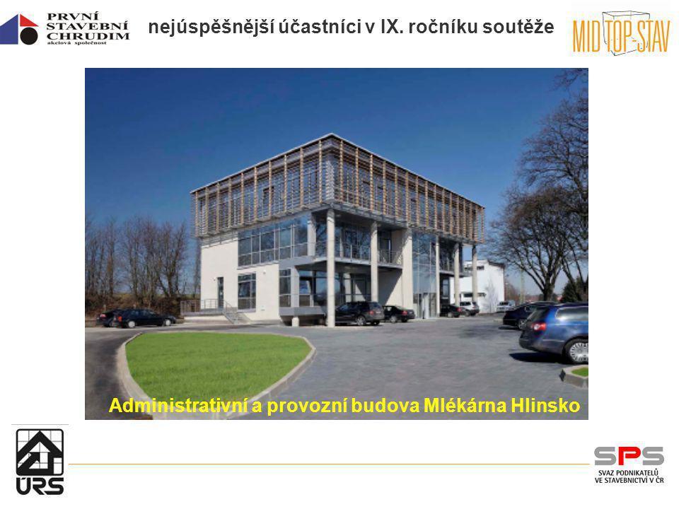 Administrativní a provozní budova Mlékárna Hlinsko