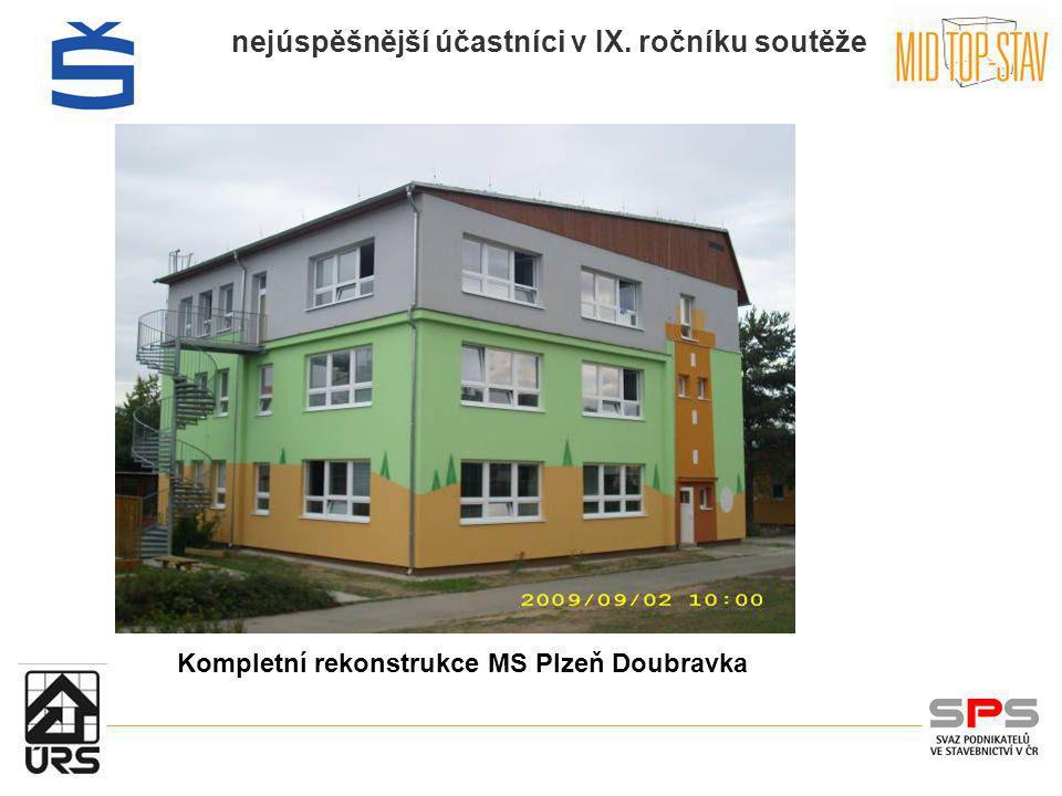 Kompletní rekonstrukce MS Plzeň Doubravka