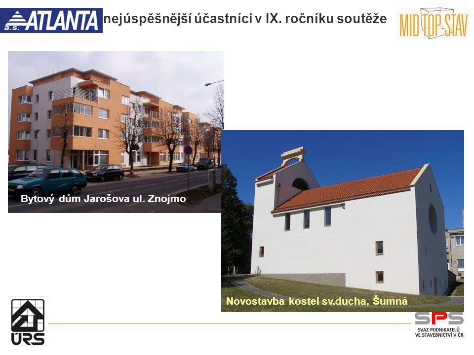 Bytový dům Jarošova ul. Znojmo