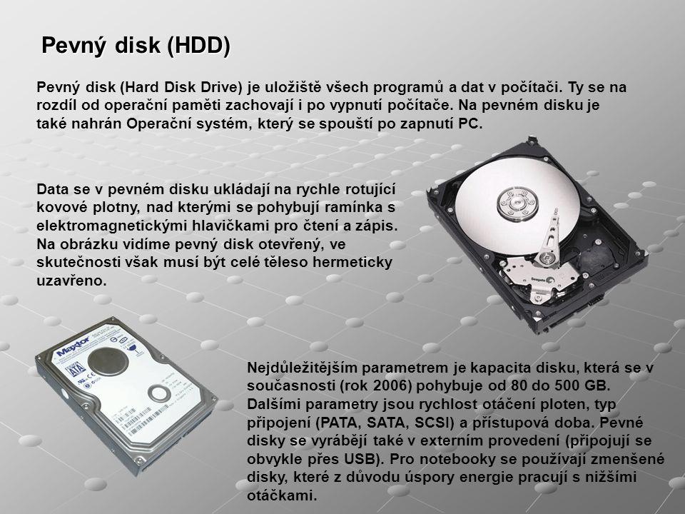 Pevný disk (HDD)