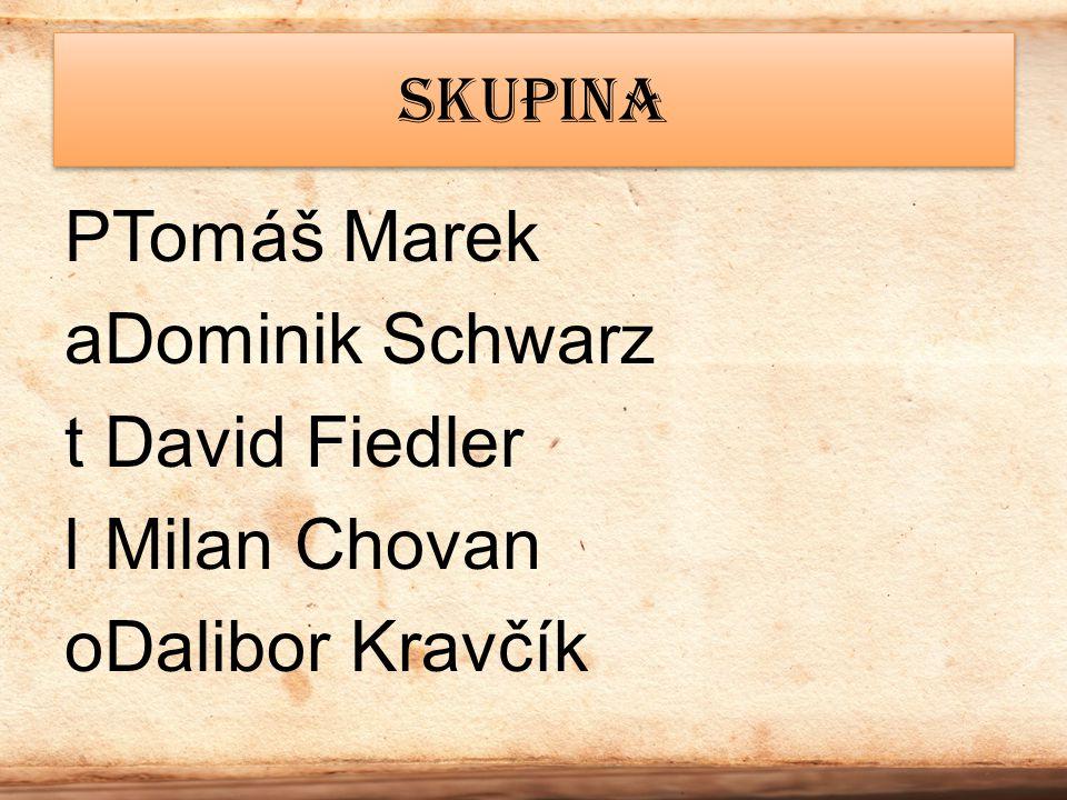 Tomáš Marek Dominik Schwarz David Fiedler Milan Chovan Dalibor Kravčík