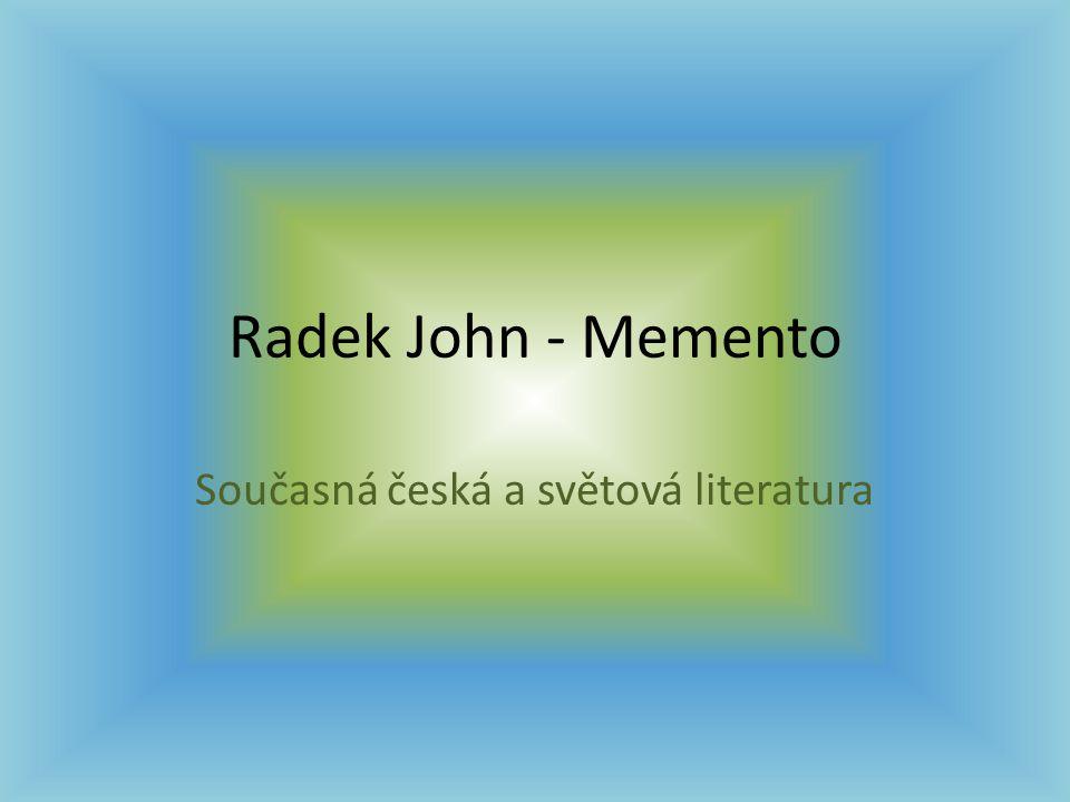 Současná česká a světová literatura