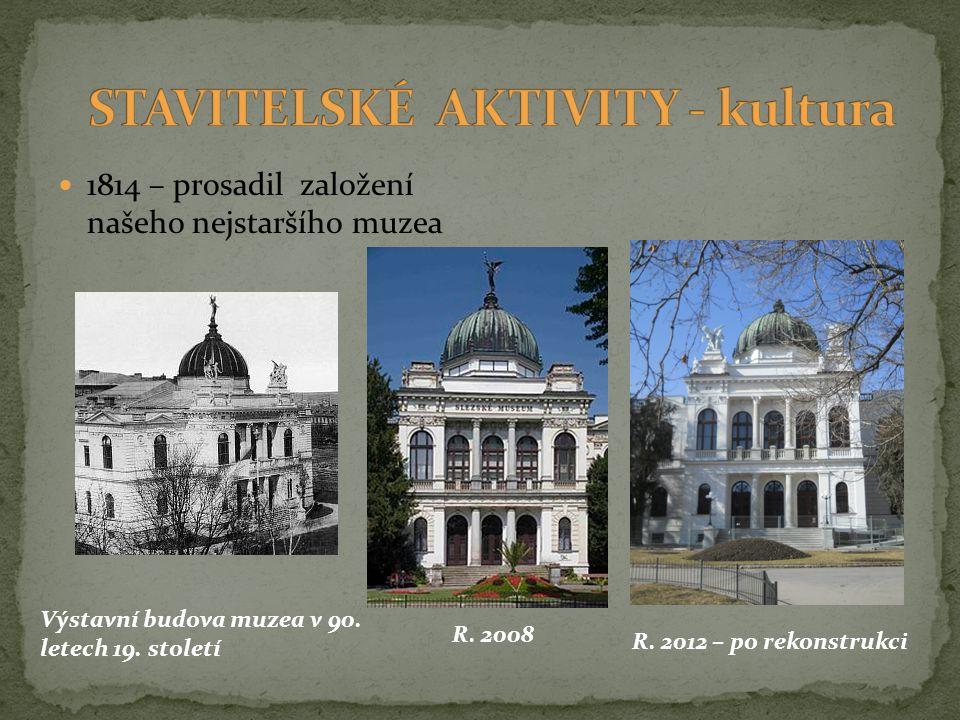 STAVITELSKÉ AKTIVITY - kultura