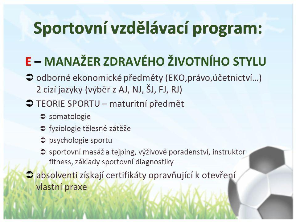 Sportovní vzdělávací program: