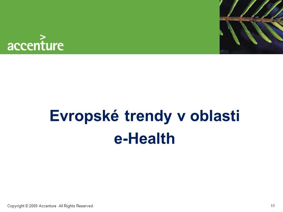 Evropské trendy v oblasti e-Health