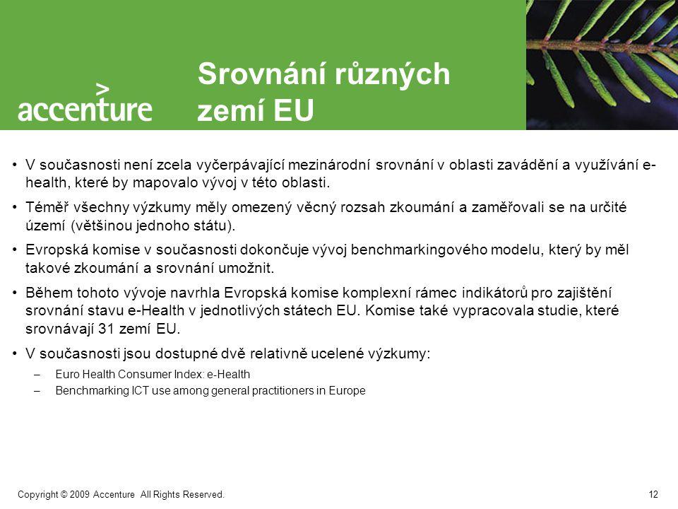 Srovnání různých zemí EU