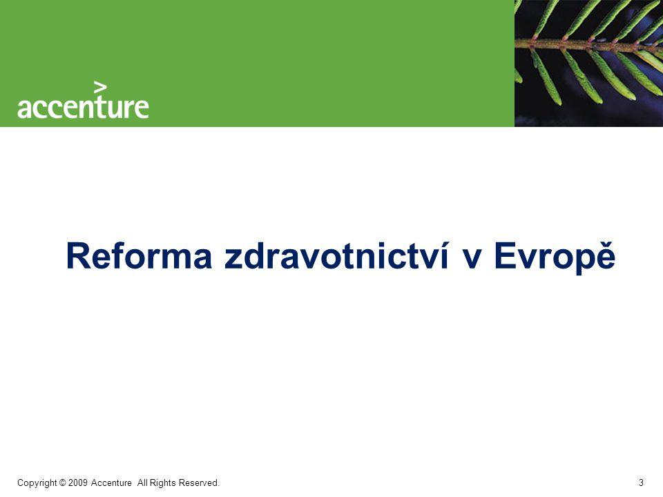 Reforma zdravotnictví v Evropě