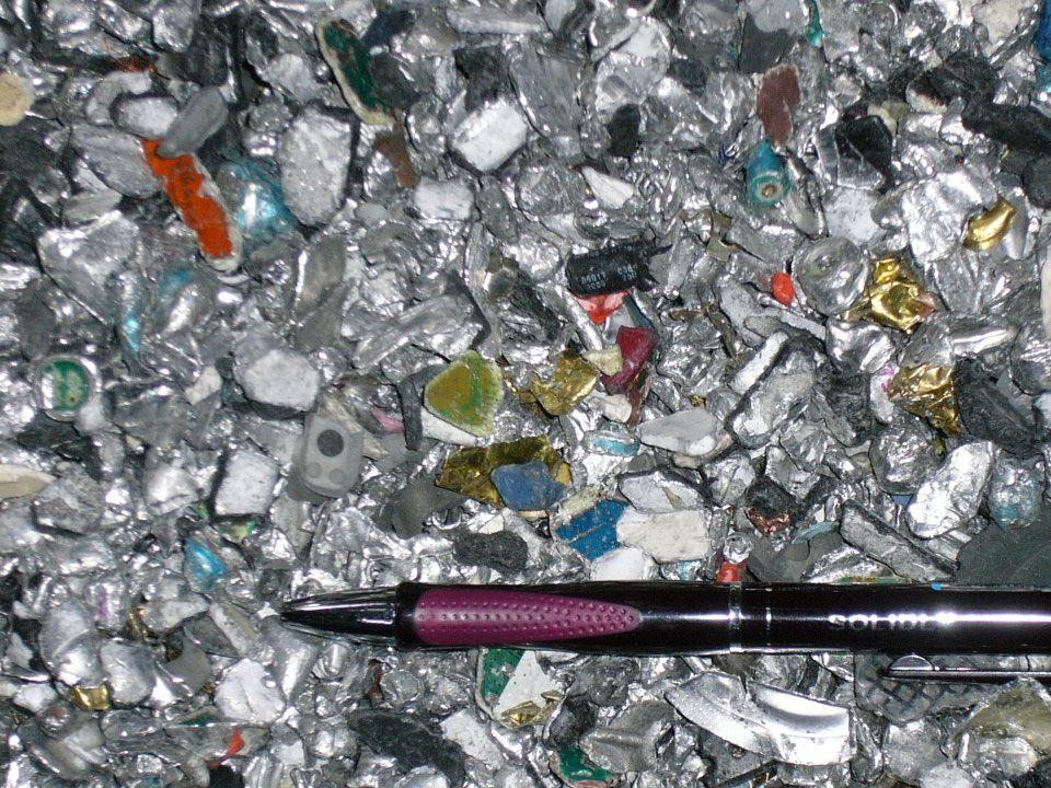 Příklady recyklátů výhodně obchodovatelných