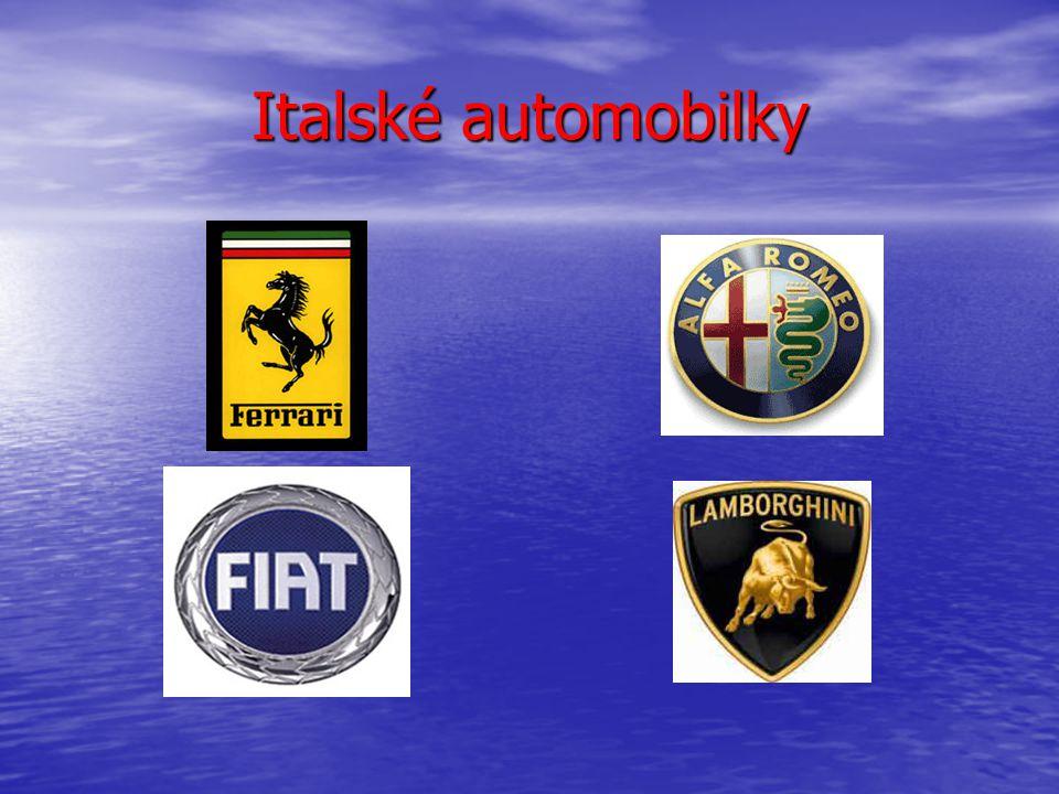 Italské automobilky