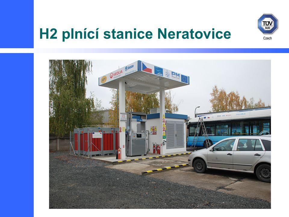 H2 plnící stanice Neratovice