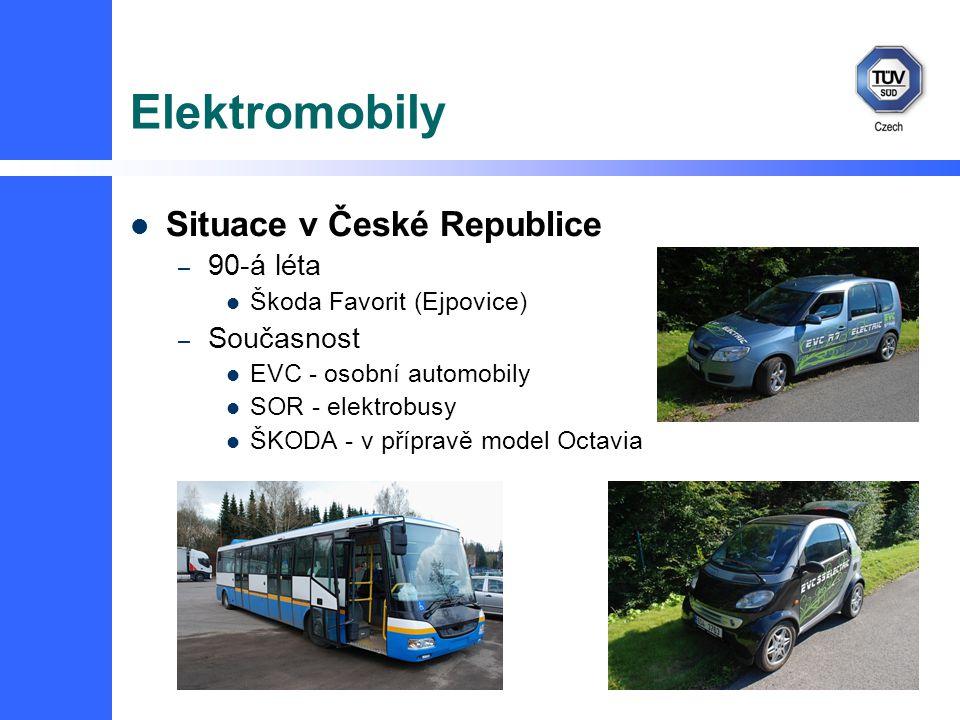 Elektromobily Situace v České Republice 90-á léta Současnost