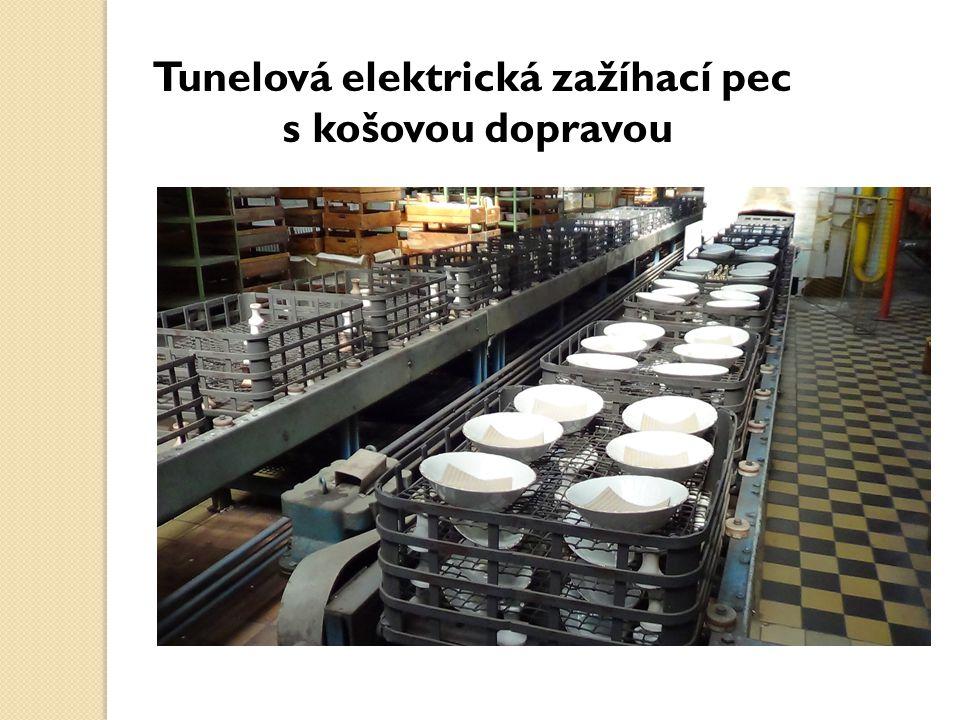 Tunelová elektrická zažíhací pec