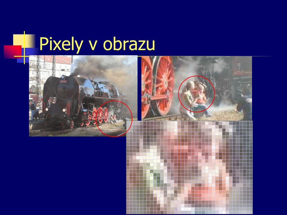 Pixely v obrazu