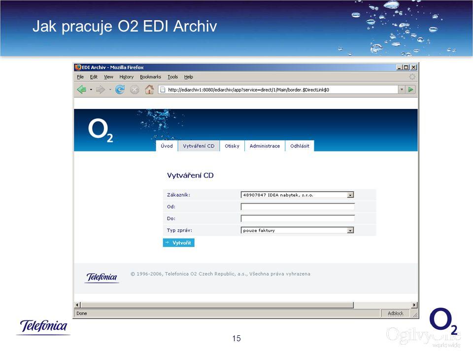 Jak pracuje O2 EDI Archiv