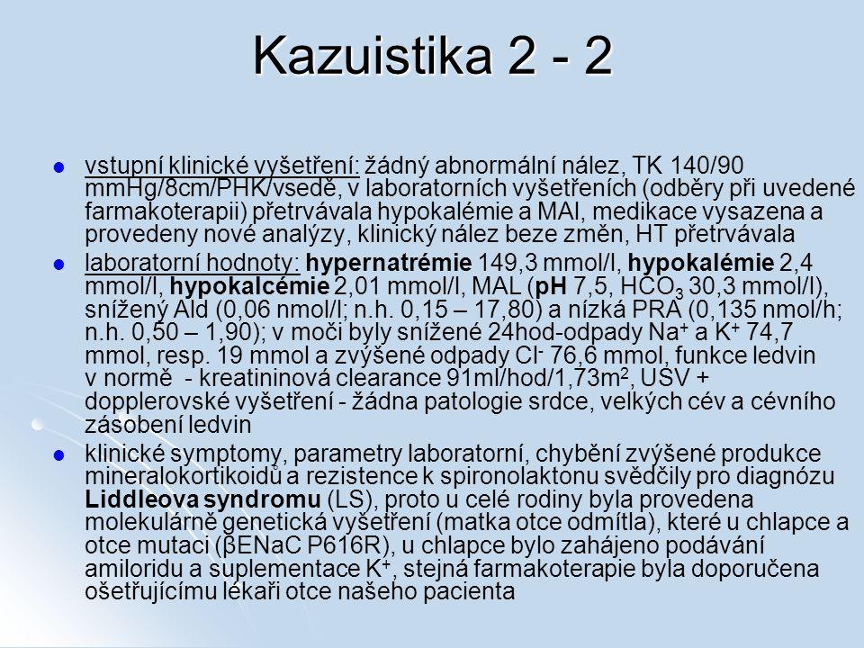 Kazuistika 2 - 2