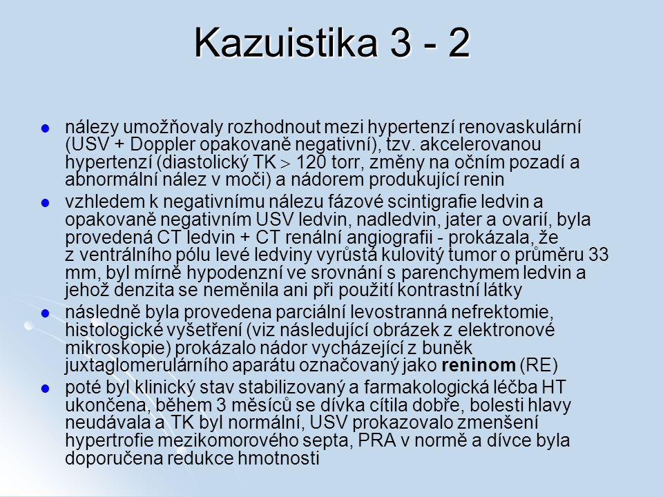 Kazuistika 3 - 2