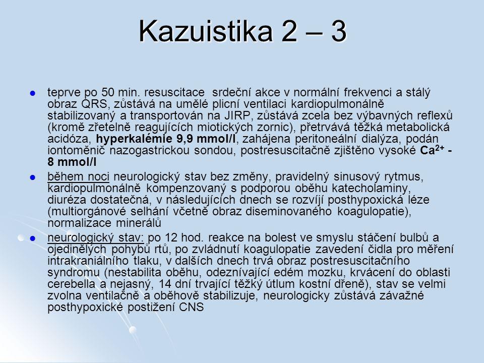 Kazuistika 2 – 3