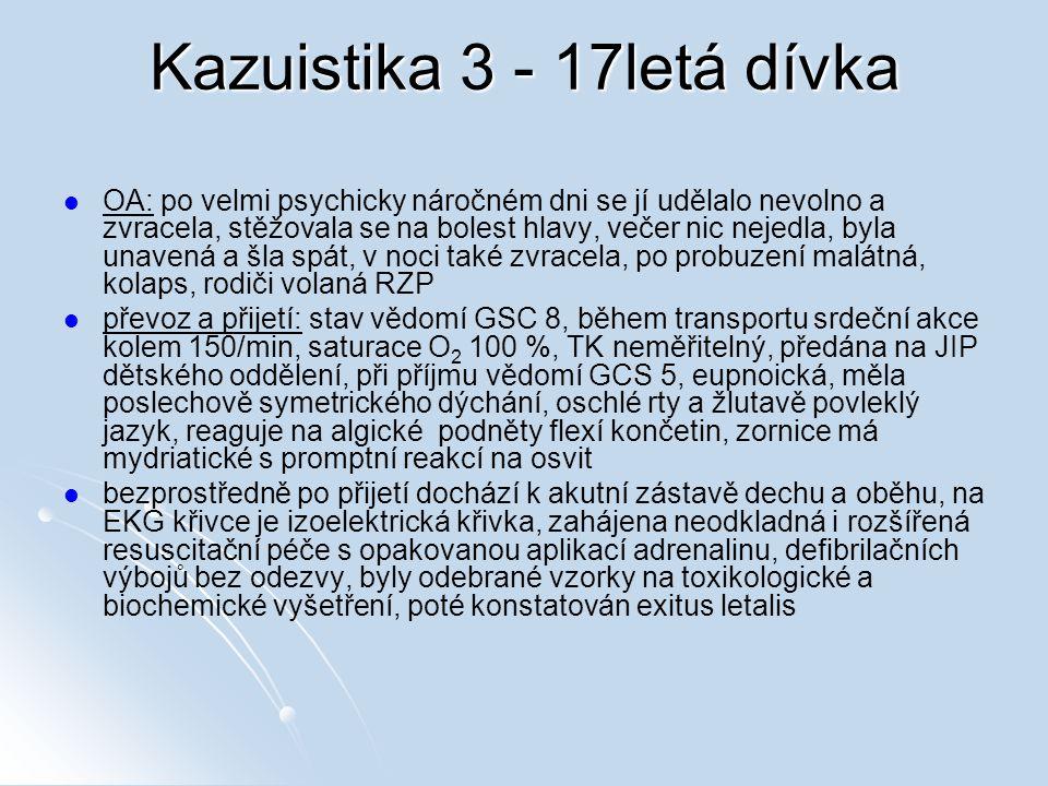 Kazuistika 3 - 17letá dívka