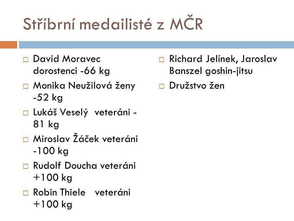 Stříbrní medailisté z MČR