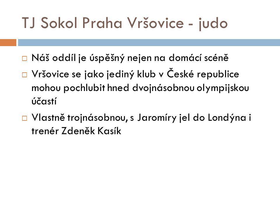 TJ Sokol Praha Vršovice - judo