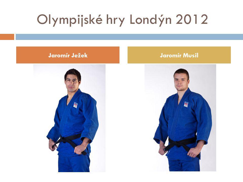 Olympijské hry Londýn 2012 Jaromír Ježek Jaromír Musil