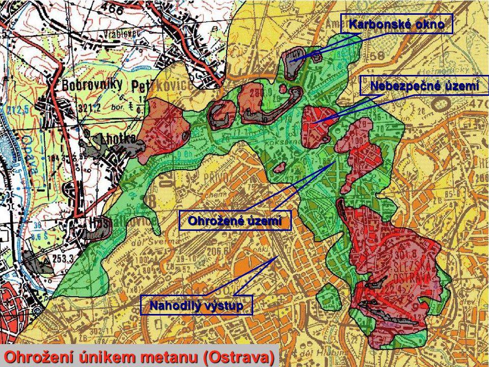 Ohrožení únikem metanu (Ostrava)