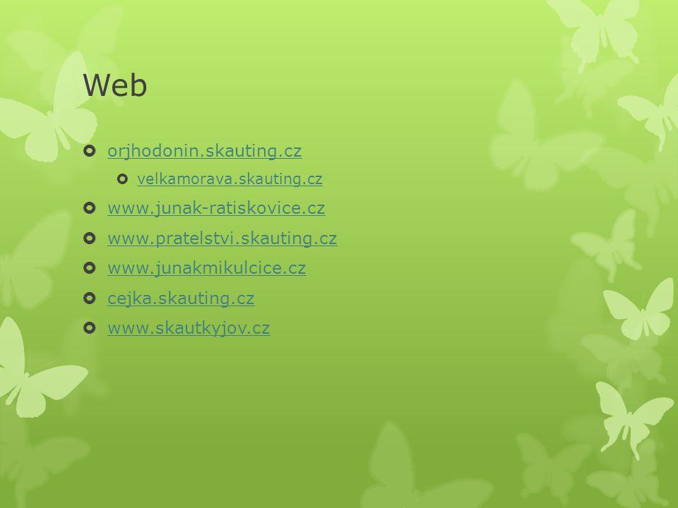 Web orjhodonin.skauting.cz www.junak-ratiskovice.cz