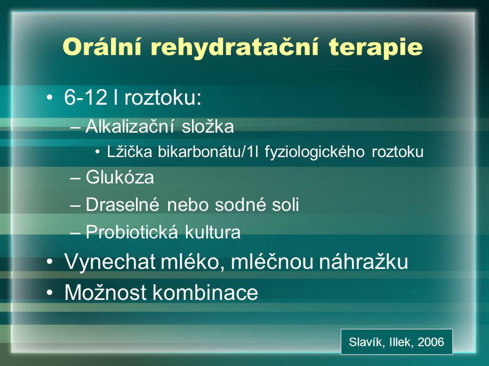 Orální rehydratační terapie
