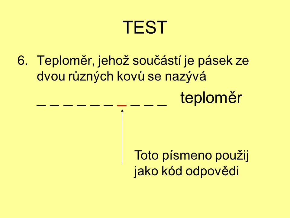 TEST _ _ _ _ _ _ _ _ _ _ teploměr