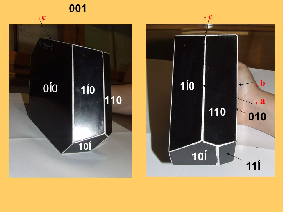 001 x c x c x b 1Í0 0Í0 1Í0 110 x a 110 010 10Í 10Í 11Í