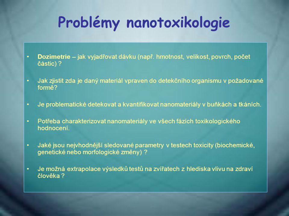 Problémy nanotoxikologie