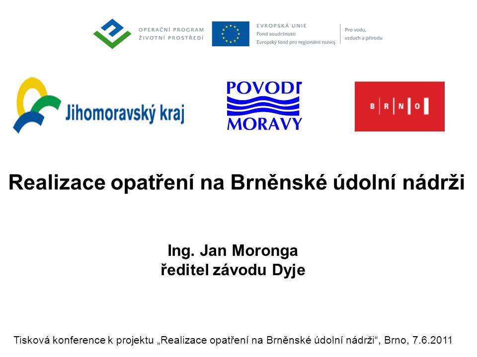 Realizace opatření na Brněnské údolní nádrži