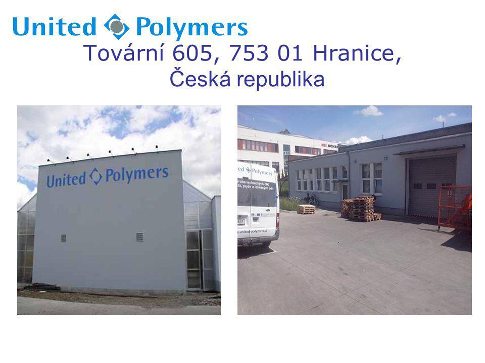 Tovární 605, 753 01 Hranice, Česká republika