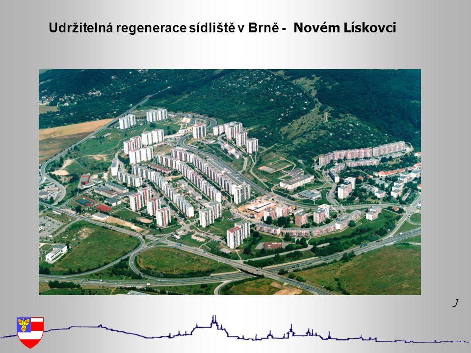 Udržitelná regenerace sídliště v Brně - Novém Lískovci