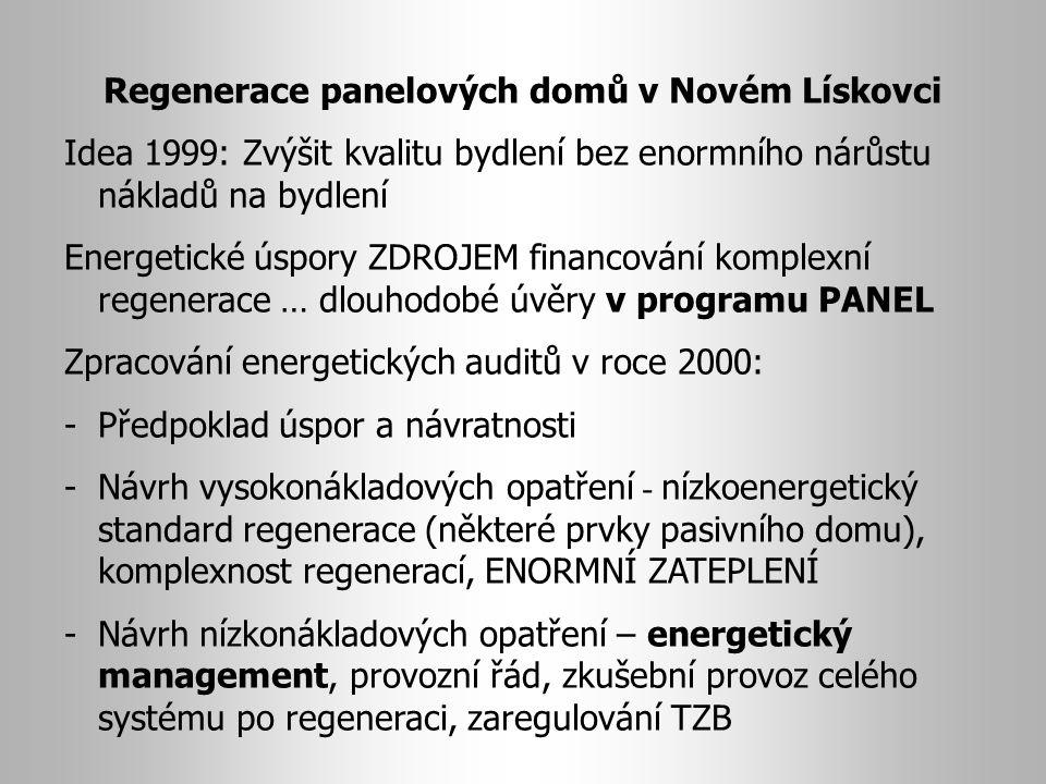 Regenerace panelových domů v Novém Lískovci