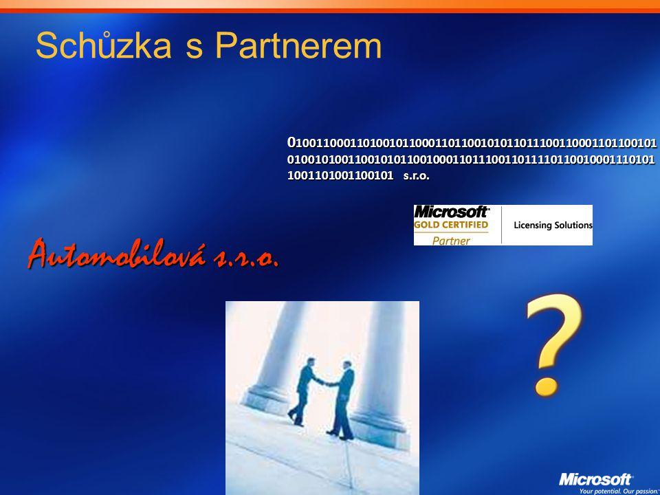 Automobilová s.r.o. Schůzka s Partnerem