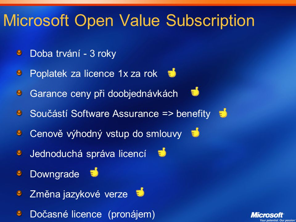 Microsoft Open Value Subscription