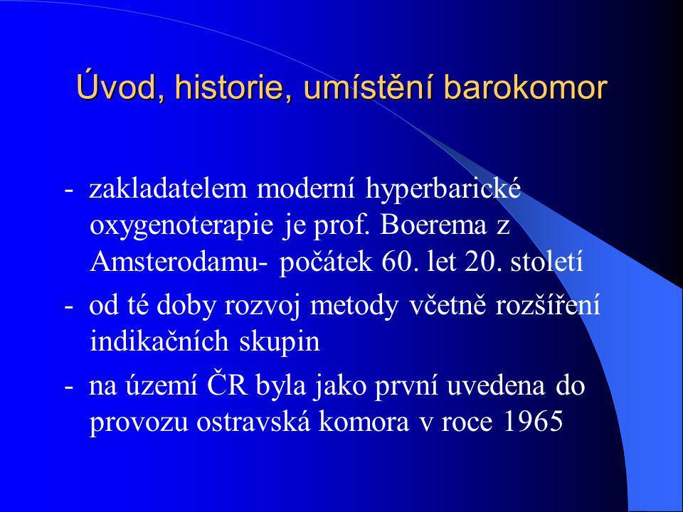 Úvod, historie, umístění barokomor