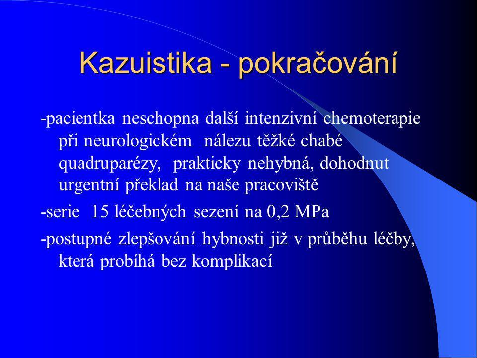 Kazuistika - pokračování