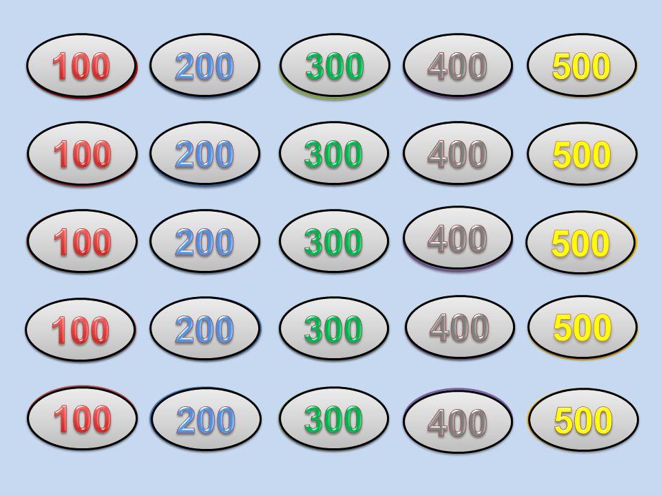 100 79. 6. 200. 9. 300. 63. 400. 500. 29. 57. 100. 3. 200. 27. 300. 400. NE. 500. 10.
