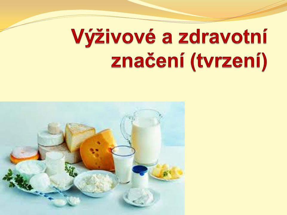 Výživové a zdravotní značení (tvrzení)