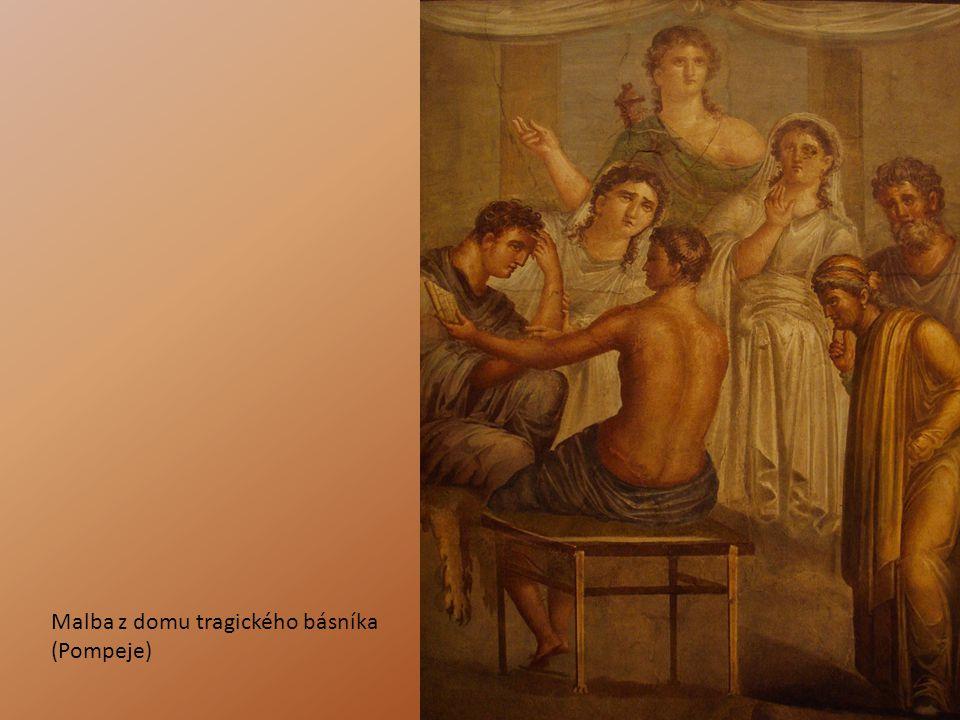 Malba z domu tragického básníka