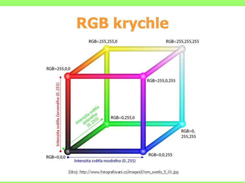 RGB krychle Zdroj: http://www.fotografovani.cz/images3/rom_svetlo_5_01.jpg