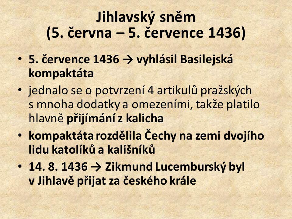 Jihlavský sněm (5. června – 5. července 1436)