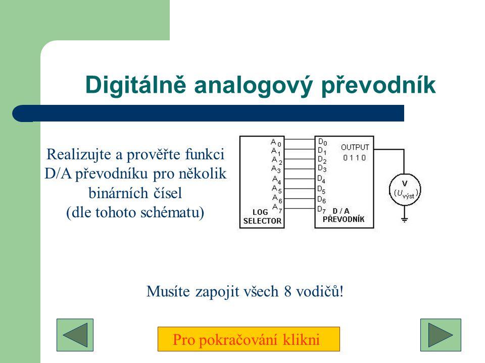 Digitálně analogový převodník